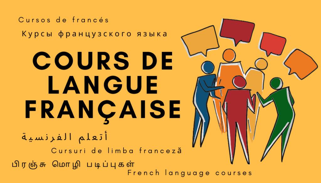 cours de langue francaise